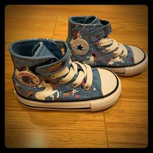 Converse Baby Girl High Top Shoes